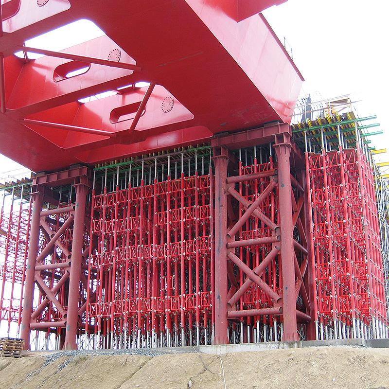apuntalamiento de forjados - puntales de aluminio para la construcción 1