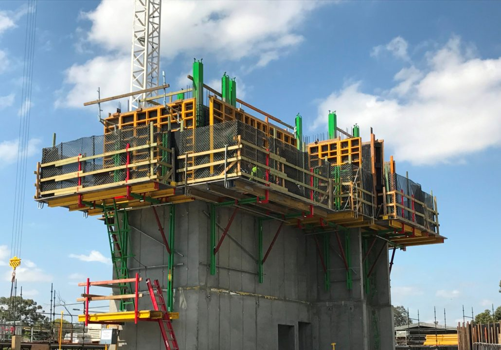 Encofrados para paredes - paredes modulares -1