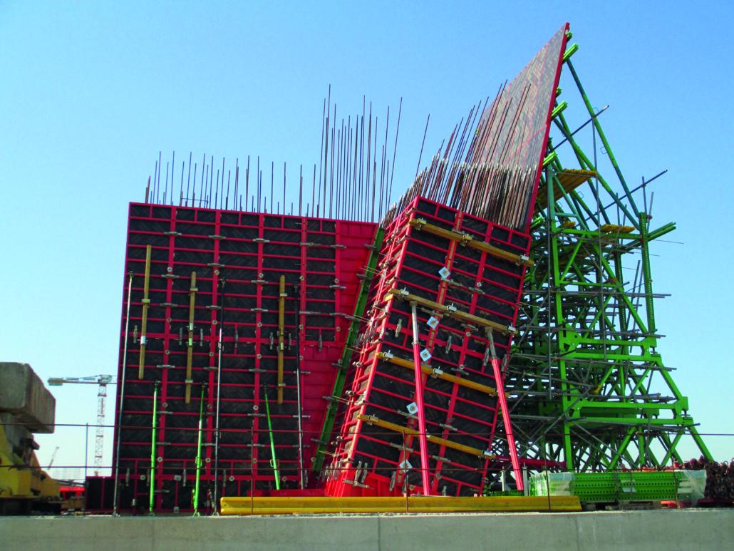 Encofrados para paredes - paredes modulares -4